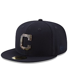 New Era Cleveland Indians Camo Capped 59FIFTY-FITTED Cap