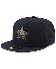 New Era Houston Astros Camo Capped 59FIFTY-FITTED Cap