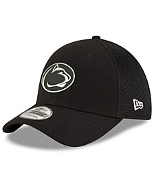 New Era Penn State Nittany Lions Black White Neo 39THIRTY Cap