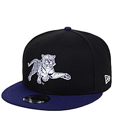 Jackson State Tigers Black Team Color 9FIFTY Snapback Cap
