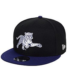 New Era Jackson State Tigers Black Team Color 9FIFTY Snapback Cap