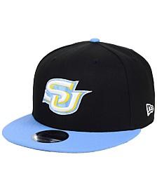 New Era Southern Jaguars Black Team Color 9FIFTY Snapback Cap