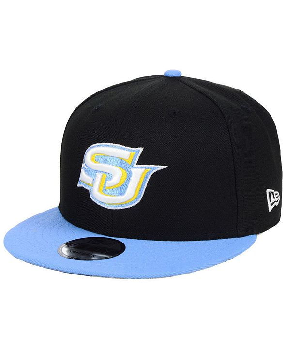 New Era Southern Jaguars Black Team Color 9FIFTY Snapback Cap