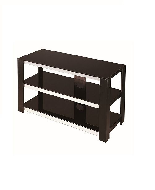 New Spec Inc 42 Tv Stand 2 Tier Tempered Glass Furniture Macy S