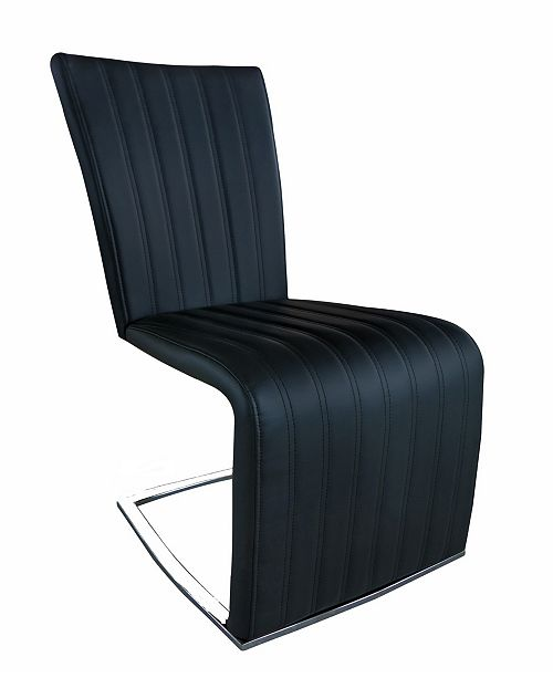 New Spec Inc New Spec Barcelona Leatherette Chair Set of 2 Pieces