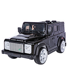 Battery Operated Land Rover Defender Suv Rideon