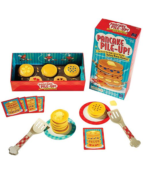 Learning Resources Educational Insights Pancake Pile-Up Relay Game