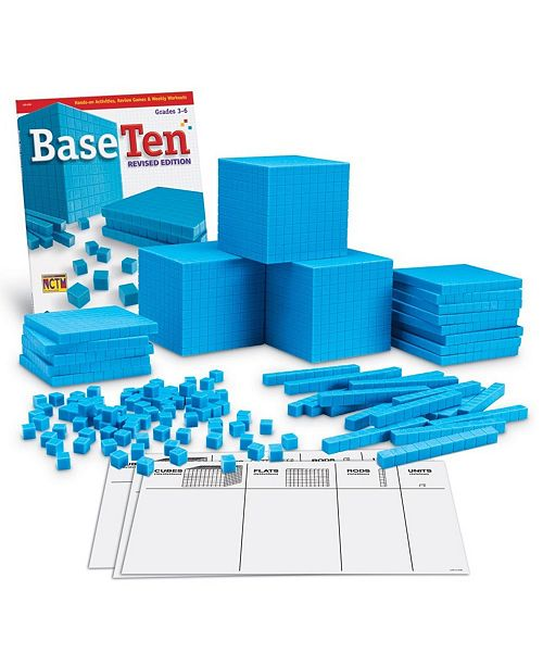 Learning Resources Plastic Base Ten Class Set