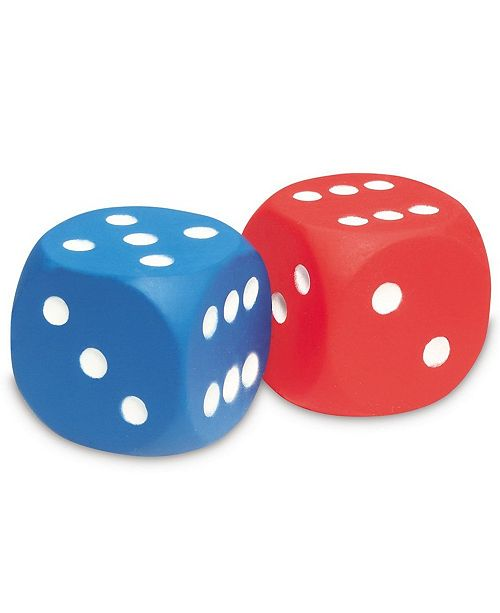 Learning Resources Foam Dice - Dot Dice