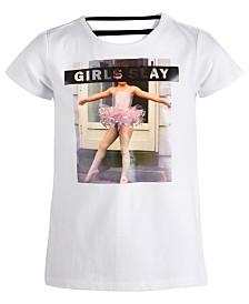 Ideology Big Girls Slay-Print T-Shirt, Created for Macy's