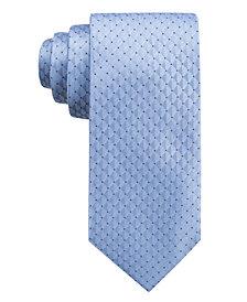 Ryan Seacrest Distinction™ Men's Vigo Neat Slim Silk Tie, Created for Macy's