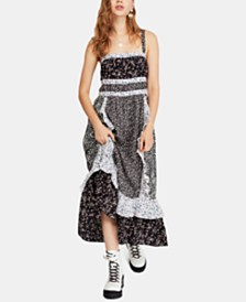 Free People Printed Yesica Maxi Dress