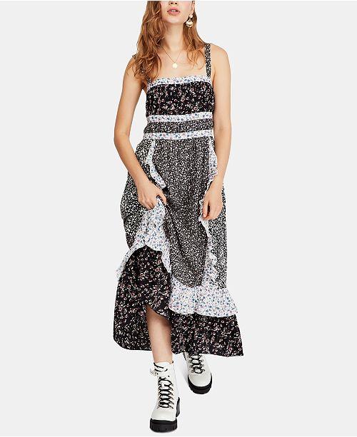 93e934d728ba Free People Printed Yesica Maxi Dress & Reviews - Dresses - Women ...