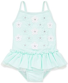 3D Aqua Baby Girls Swimsuit