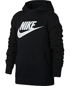 Big Boys Sportswear Fleece Pullover Hoodie