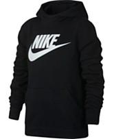 f96877363c644d Nike Big Boys Sportswear Fleece Pullover Hoodie