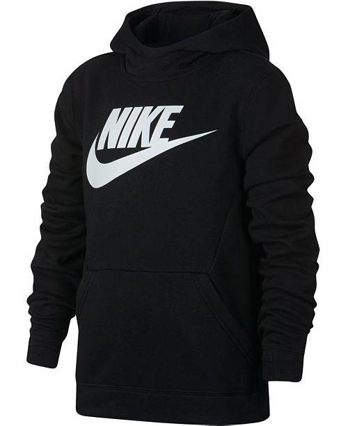 Nike Big Boys Sportswear Fleece Pullover Hoodie