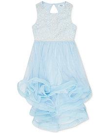 Speechless Big Girls Plus Embroidered Dress