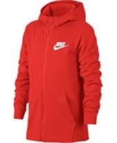 3db0896b8e32 Nike Big Boys Full-Zip Graphic-Print Cotton Hoodie