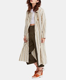 Free People Sweet Melody Duster Shirt