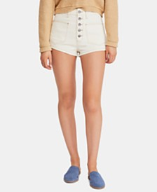 Free People Bridgette Denim Shorts