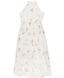 Speechless Big Girls Floral Embroidered Maxi Dress