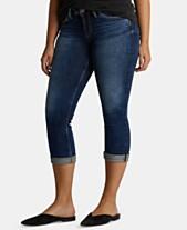 a336ce4734e2 Silver Jeans Suki Rolled Capri Jeans