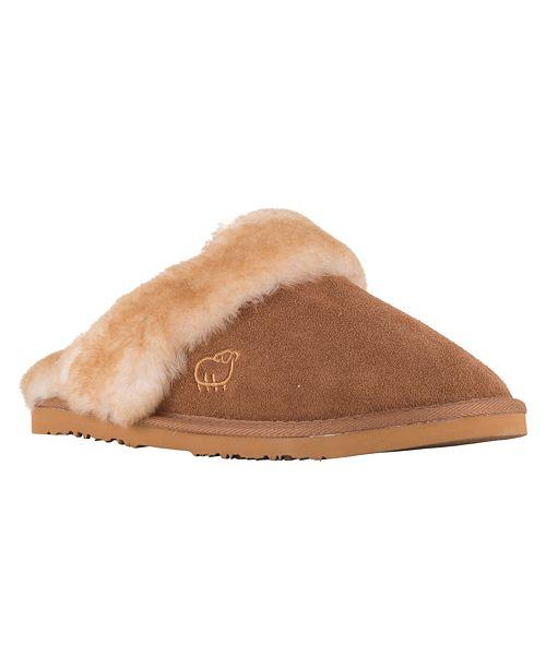 e83f4a3dd Lamo Women s Ladies Scuff Sheepskin Slippers   Reviews - Home - Macy s