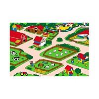 Deals on Sunshine Mount Farm Fun Children Area Rug