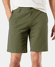 "Dockers Straight Fit Chino Smart 360 Flex 4-way Stretch 9.5"" Shorts"