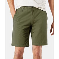 Deals on Dockers Straight Fit Chino Smart 360 Stretch 9.5-inch Shorts