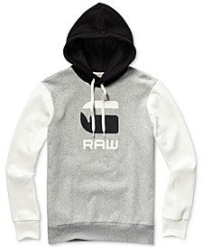 Men's Graphic 19 Regular-Fit Colorblocked Logo Hoodie