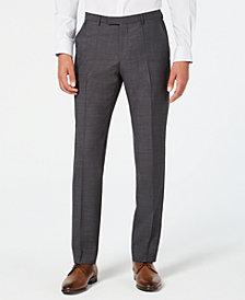HUGO Men's Modern-Fit Dark Charcoal Suit Pants