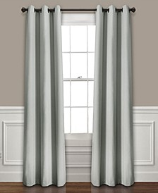 "Absolute Blackout 38"" x 108"" Curtain Set"