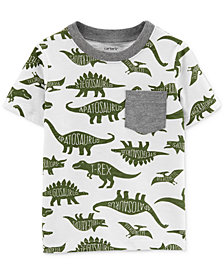 Carter's Toddler Boys Dino-Print Cotton T-Shirt