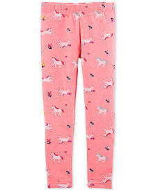 Carter's Toddler Girls Unicorn-Print Leggings