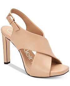 Calvin Klein Women's Myra Dress Sandals