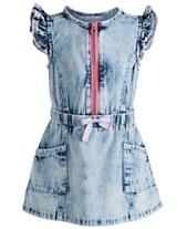 02e937ff810 First Impressions Baby Girls Denim Dress