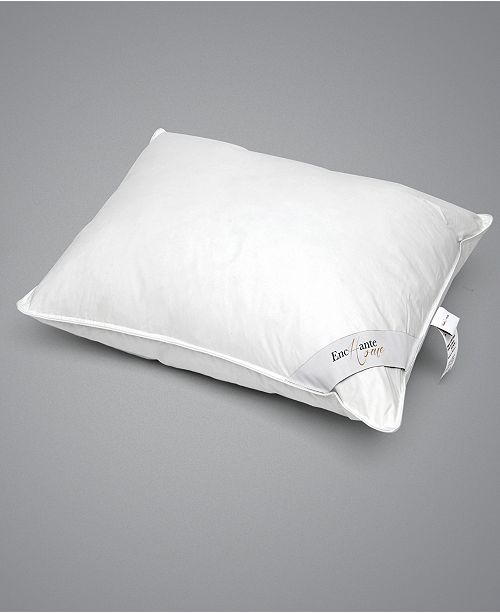 Enchante Home Luxury Goose Feather & Down Queen Pillow - Medium
