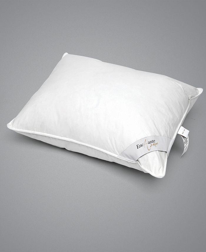 Enchante Home - Luxury Goose Down Queen Pillow - Medium