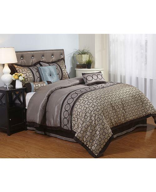 Linx 7-Piece Full Comforter Set