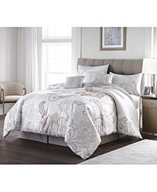Lucinda Lace 7-Piece California King Comforter Set