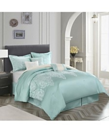 Marsha 7-Piece Queen Comforter Set