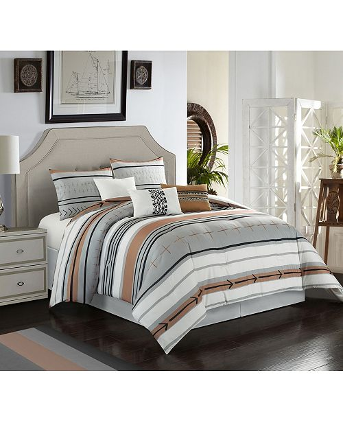 Nanshing Pollux 7-Piece California King Comforter Set