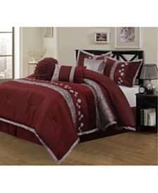 Riley 7-Piece California King Comforter Set