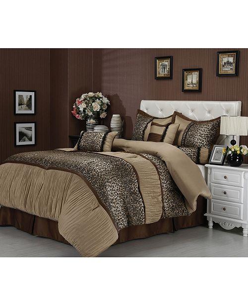 Nanshing Sadie 7-Piece California King Comforter Set