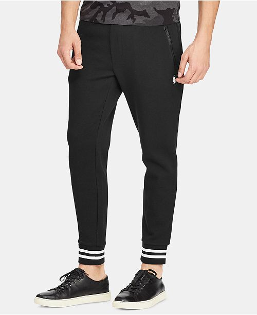 Polo Ralph Lauren Men's P-Wing Double-Knit Performance Jogger Pants