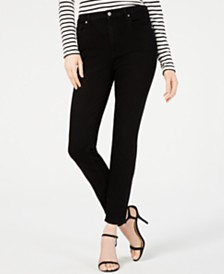 7 For All Mankind Aubery High-Rise Skinny Jeans