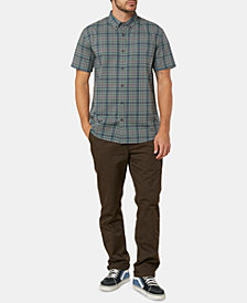 O'Neill Men's Timebomb Standard-Fit Stretch Plaid Shirt