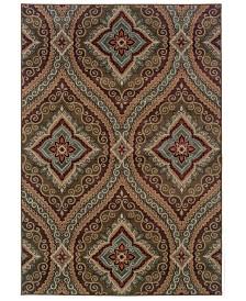 "CLOSEOUT! Oriental Weavers  Adrienne 4145E Multi/Multi 7'10"" x 10'10"" Area Rug"